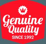 Genuine Quality Since 1992