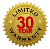 30 year limited warranty